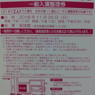 11/25 ロボットコンテスト 2018 全国大会 国技館(その他)