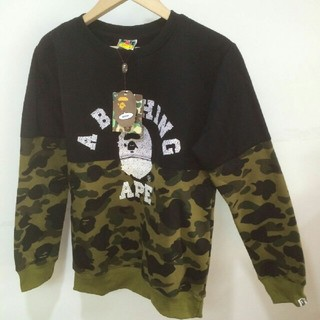 A BATHING APE - A BATHING APE スウェット 迷彩