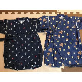 甚平 ロンパース 80cm  ◽︎2点◽︎(甚平/浴衣)