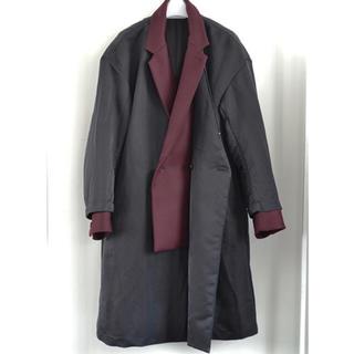 ジョンローレンスサリバン(JOHN LAWRENCE SULLIVAN)の定価12万 17AW ETHOSENS ドッキングコート(チェスターコート)