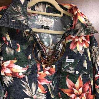 ネイバーフッド(NEIGHBORHOOD)のネイバーフッド ボタニカルシャツ&ハーフパンツ セットアップです。(シャツ)