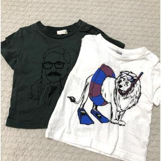 ナルミヤ インターナショナル(NARUMIYA INTERNATIONAL)のb-room  半袖Tシャツ2枚セット(Tシャツ)