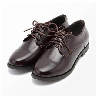 エヘカソポ(ehka sopo)のエヘカソポ レースアップシューズ(ローファー/革靴)