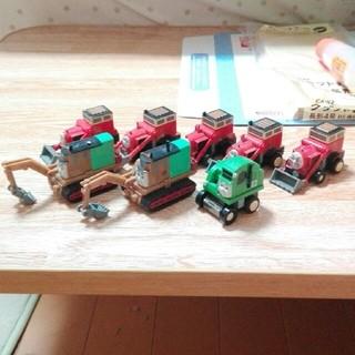 カプセルプラレールトーマス 建設車両(鉄道模型)