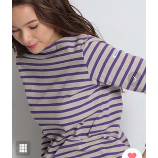 オーシバル(ORCIVAL)の【新品】ORCIVAL コットンロードバスクシャツ(カットソー(長袖/七分))