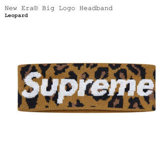 Supreme - supreme New Era Big Logo Headband ヘアバンド
