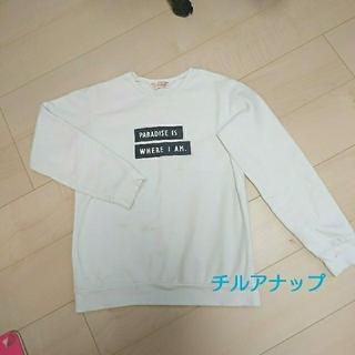 チルアナップ(CHILLE anap)の♡チルアナップ  トップス フリーサイズ(Tシャツ(長袖/七分))