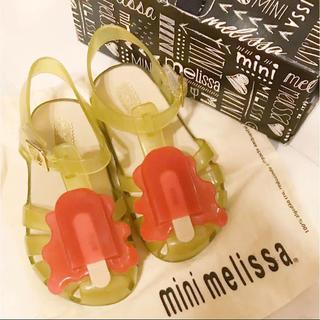 メリッサ(melissa)のミニメリッサ 美品 超可愛い!アイスサンダル☆US9 15.5 16cm(サンダル)