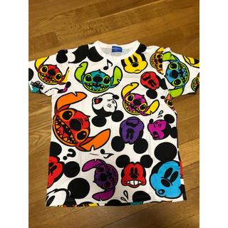 Disney - ディズニー ミッキー スティッチ Tシャツ