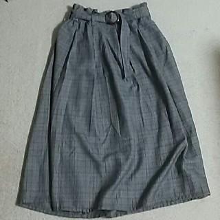 シマムラ(しまむら)のグレンチェック☆スカート(ひざ丈スカート)