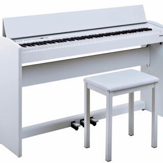 ローランド(Roland)のRoland 電車ピアノ(ホワイト)(電子ピアノ)