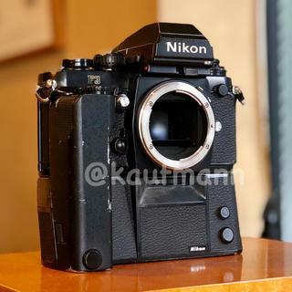 ニコン(Nikon)のニコン F3HP ボディ モードラ付き 実写確認済み(フィルムカメラ)