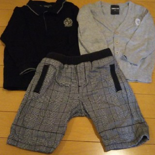 コムサイズム(COMME CA ISM)の子供服 まとめ売り 3点 セット(ドレス/フォーマル)