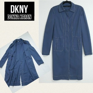 ダナキャラン(Donna Karan)のDKNY DONNA KARAN ダナキャラン コットン素材コート(ロングコート)