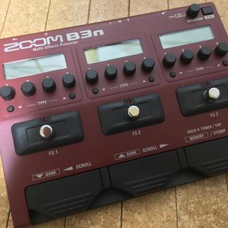 ズーム(Zoom)のZoom B3n ベース用マルチエフェクター 中古(ベースエフェクター)