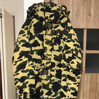 A BATHING APE - APE 「1st camo Snow Board Down Jacket」
