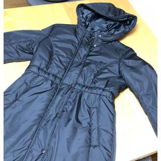 ジーユー(GU)のGUキッズ中綿フードコート150(コート)