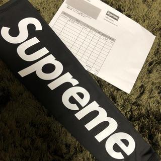 シュプリーム(Supreme)のsupreme shooting sleeves L/XL ブラック (バスケットボール)