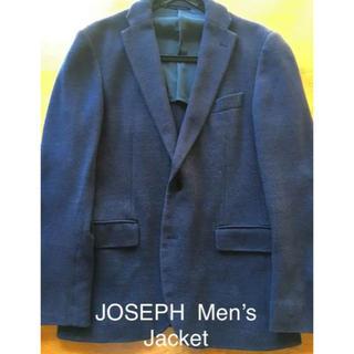 ジョゼフ(JOSEPH)のJOSEPH HOMME ジョセフオムジャケット size M ネイビー 背抜き(テーラードジャケット)