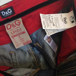 ディーアンドジー(D&G)のD&G デニムパンツ 未使用 美品(デニム/ジーンズ)