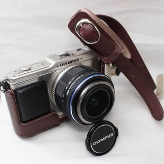 オリンパス(OLYMPUS)の❤️Wi-Fi❤️オリンパス P1 ミラーレスカメラ(ミラーレス一眼)