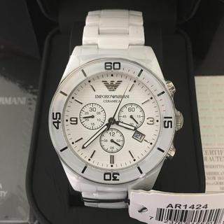 エンポリオアルマーニ(Emporio Armani)の新品未使用 エンポリオアルマーニ AR1421セラミカ腕時計(腕時計(アナログ))