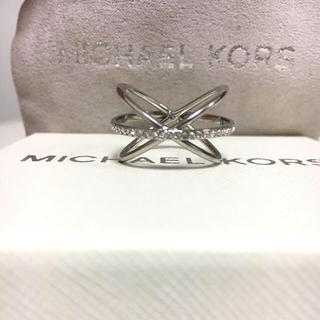 マイケルコース(Michael Kors)のマイケルコース  クロスリング(リング(指輪))