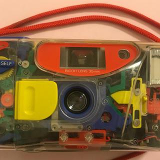 リコー(RICOH)のヴィンテージ  リコー バンダイ スケルトン カメラ マイクリスタル (フィルムカメラ)