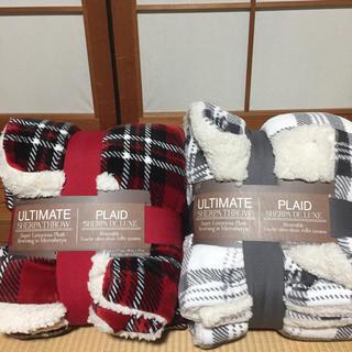 コストコ(コストコ)の新品未使用♡コストコ♡シャーパブランケット♡2個セット(毛布)