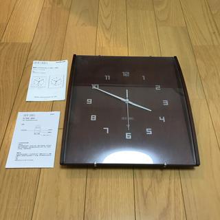 イデアインターナショナル(I.D.E.A international)のIDEA LABEL 電波時計 掛け時計(掛時計/柱時計)