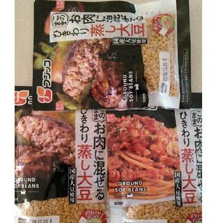 蒸し大豆 フジッコ 3個(豆腐/豆製品)