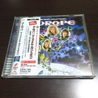 ヨーロッパ ファイナルカウントダウン CD(ポップス/ロック(洋楽))