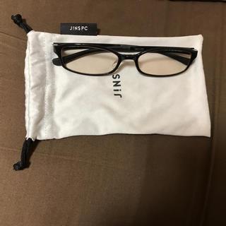 ジンズ(JINS)のJINS PC メガネ 黒(オフィス用品一般)