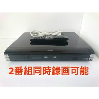 シャープ(SHARP)のSHARP DVDレコーダー AQUOS【DV-ACW82】◆2番組同時録画可(DVDレコーダー)
