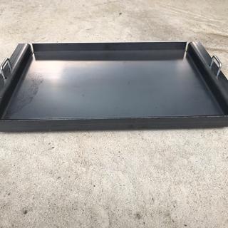 自作スノーピーク焚き火ブリッジL対応鉄板 (調理器具)