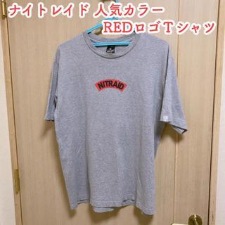 ナイトレイド(nitraid)のナイトレイド 赤ロゴTシャツ(Tシャツ/カットソー(半袖/袖なし))