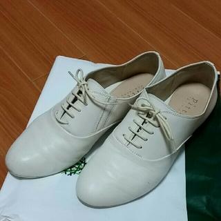 ピッティ(Pitti)のPitti  ピッティ 白 ホワイト 紐靴(その他)