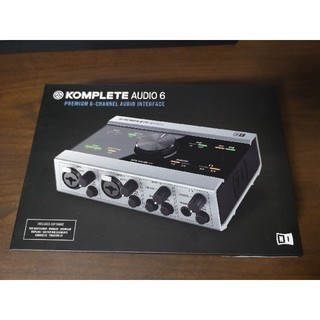 KOMPLETE AUDIO 6 native instruments(オーディオインターフェイス)