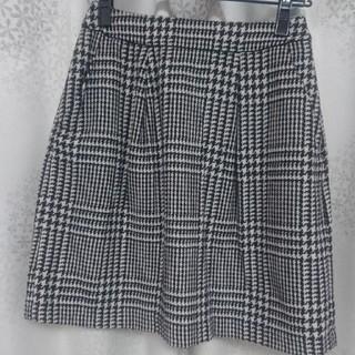 エニィスィス(anySiS)のanySiS:グレンチェックスカート(ひざ丈スカート)
