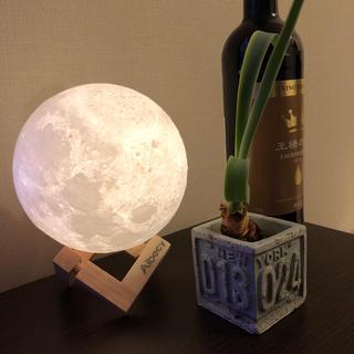 3Dプリント 月のライト 月のランプ 電気スタンド(フロアスタンド)