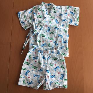 95センチ 甚平 浴衣 美品 夏服 赤ちゃん (甚平/浴衣)