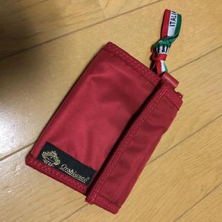 オロビアンコ(Orobianco)のオロビアンコ ナイロン 財布 赤(折り財布)