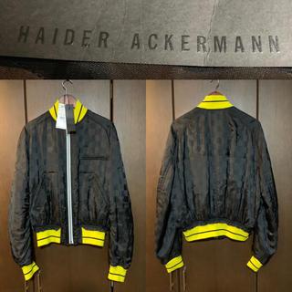 ハイダーアッカーマン(Haider Ackermann)の約20万・極美品)17SS HAIDER ACKERMANN ボンバージャケット(スカジャン)