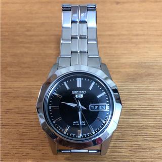 セイコー(SEIKO)の美品!SEIKO5 セイコー ファイブ 自動巻(腕時計(アナログ))
