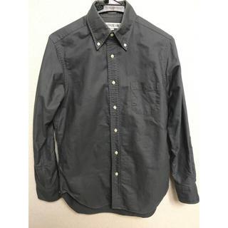 インディヴィジュアライズドシャツ(INDIVIDUALIZED SHIRTS)のINDIVIDUALIZED ボタンダウンシャツ グレー  M相当 USA(シャツ)