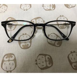 ジンズ(JINS)のJINS CLASSIC 黒縁 メガネ(サングラス/メガネ)