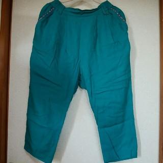 チチカカ(titicaca)のチチカカ 半端丈ズボン Lサイズ(カジュアルパンツ)