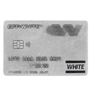 オフホワイト(OFF-WHITE)のOff-White マネークリップ オフホワイト (マネークリップ)