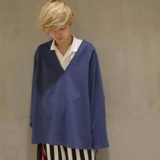 アンユーズド(UNUSED)のuru 18ss vネックプルオーバー (Tシャツ/カットソー(七分/長袖))