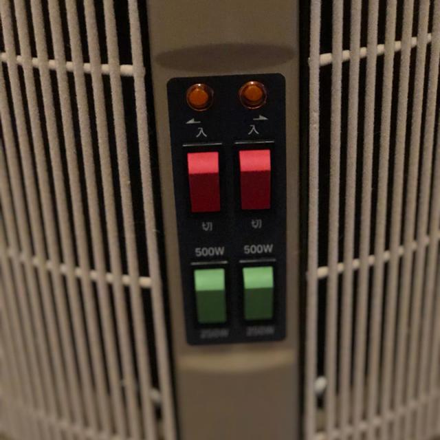 遠赤外線パネルヒーター暖話室 スマホ/家電/カメラの冷暖房/空調(電気ヒーター)の商品写真
